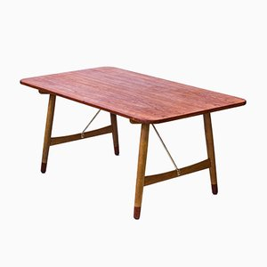 Scrivania Jagtbordet di Børge Mogensen per Søborg Møbelfabrik, anni '50