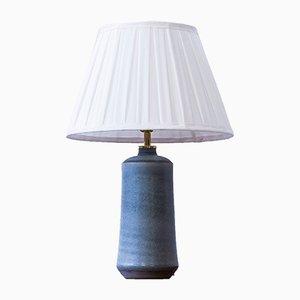 Lampe de Bureau en Grès par Eric & Ingrid Triller, Suède, 1950s