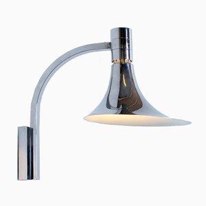 Trumpet Wandlampe Lampe von Albini, Helg & Piva für Sirrah, 1960er
