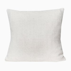 British Alpaca Herringbone Fern Cushion by Araminta Campbell