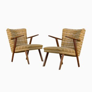 Shell Lounge Chairs, 1950s, Set of 2
