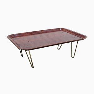 Mid-Century Teak Folding Tray