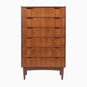 Teak Chest of Drawers by Svend Langkilde, 1960s