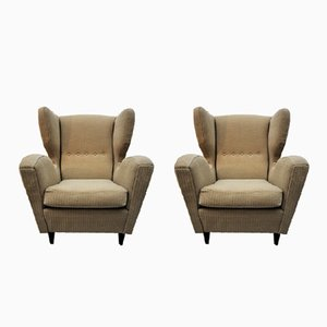 Vintage Italian Lounge Chairs, Set of 2