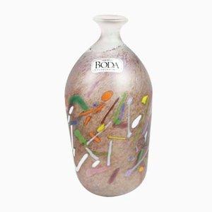 Vase Soliflore Vintage par Bertil Vallien pour Kosta Boda