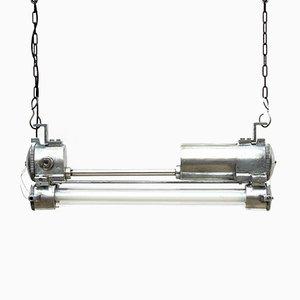 Lampada vintage industriale fluorescente
