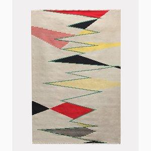 Tappeto modernista di Antonin Kyabl, Cecoslovacchia, anni '50