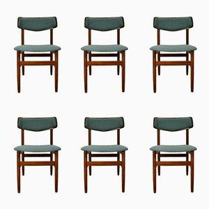 Mid-Century Palisander Stühle, 1960er, 6er Set
