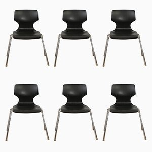 Stackable Chairs from Flötotto, 1960s, Set of 6