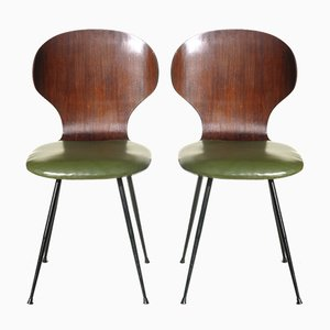 Bentwood Chairs by Carlo Ratti, 1950s, Set of 2