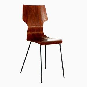 Esszimmerstühle von Aldo Bartolomeo für Stildomus, 1950er, 2er Set