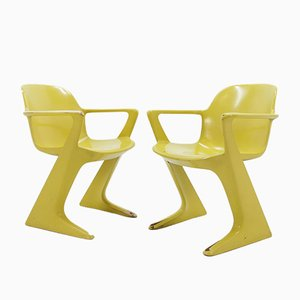 Kangaroo Chairs by Ernst Moeckl, 1960s, Set of 2