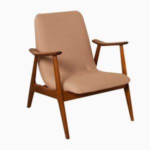 Niedriger Armlehnstuhl von Louis van Teeffelen für Webé, 1950er