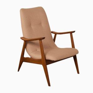 Hoher Armlehnstuhl von Louis van Teeffelen für Webé, 1950er