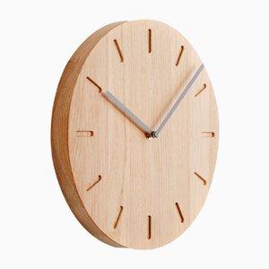 Horloge Watch:Out en Chêne avec Aiguilles Grises de Applicata