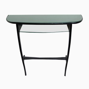 Mid-Century Italian Wall Console Table