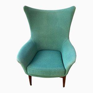 Danish Wing Chair in Teak, 1960s