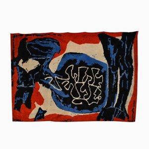 Moderner Teppich mit expressionistischem Motiv, 1970er