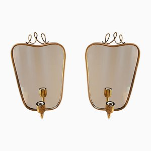 Mid-Century Modern Wall Sconces, Set of 2