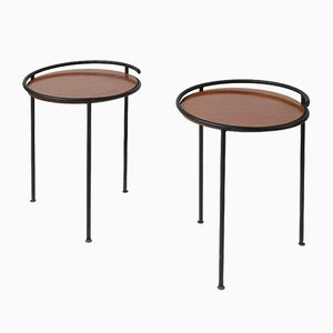 Vintage Italian Side Tables, Set of 2