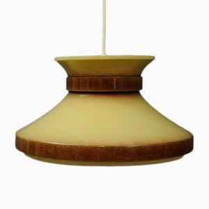 Lámpara colgante sueca de Belid, años 60