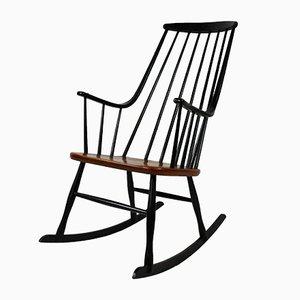 Sedia a dondolo di Lena Larsson per Nesto, Scandinavia, 1958