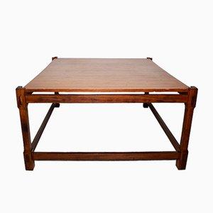 Tavolino da caffè in legno, Italia, anni '60