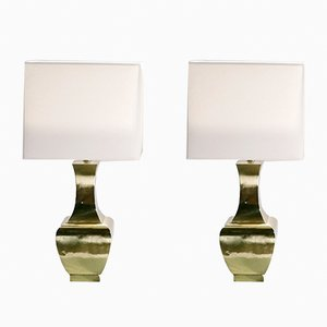 Brass Lamps, Set of 2, 1970s