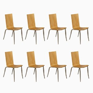 Olly Tango Chairs by Philippe Starck for Driade, 1990s, Set of 8