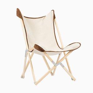 Zweifarbiger Wildleder Telami Tripolina Chair von Telami