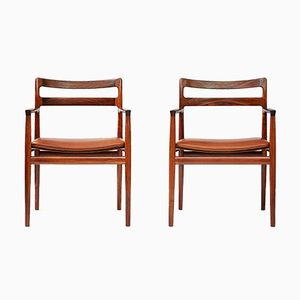Rosewood Armchairs from Norgaard, 1960s, Set of 2