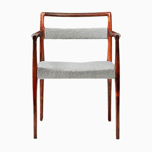 Rosewood Armchair by Kai Kristiansen for O.D. Møbler, 1960s