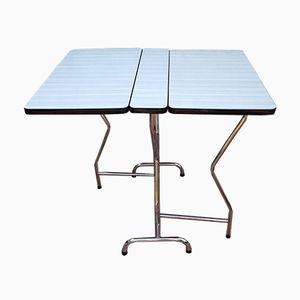 Mid-Century Chrome & Formica Folding Table