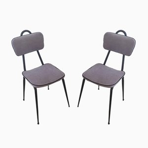Mid-Century Modern Chairs, 1950s, Set of 2