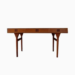 Teak Desk by Nanna Ditzel for Søren Willadsen Møbelfabrik, 1960s