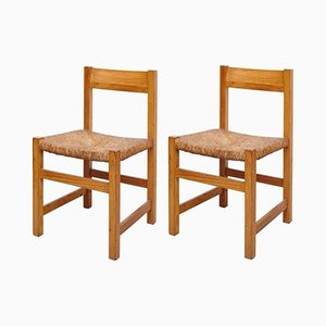 Spanish Chairs, 1950s, Set of 2