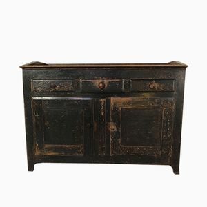 Antique English Oak Cupboard