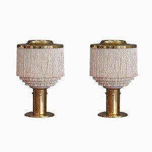 Lampes de Bureau B-145 Mid-Century par Hans-Agne Jakobsson, Set de 2
