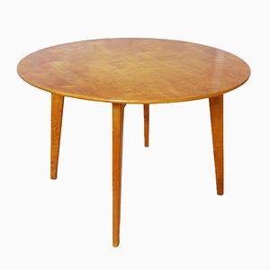Tavolino da caffè Mid-Century impiallacciato in ciliegio