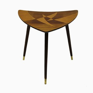 Mid-Century Inlaid Side Table from Bröderna Miller