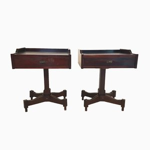 SC50 Rosewood Nightstands by Claudio Salocchi for Sormani, 1960s, Set of 2