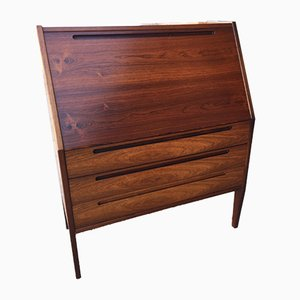 Danish Rosewood Secretaire by Nils Jonsson for Torring, 1960s