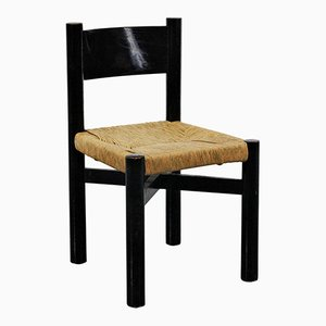 Low Vintage Meribel Chair by Charlotte Perriand