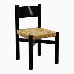 Low Vintage Meribel Chair by Charlotte Perriand