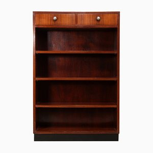 Art Deco Open Bookcase in Rosewood, 1920s