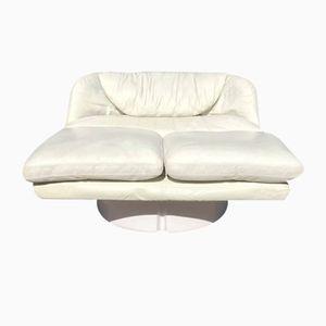 Italian Lounge Chair by Ammannatti & Vitelli for Comfort Italy, 1970s