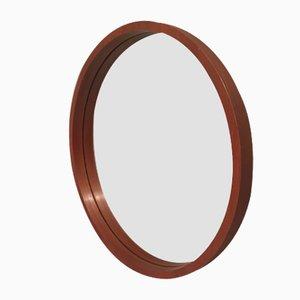 Circular Mirror in Wood, 1960s