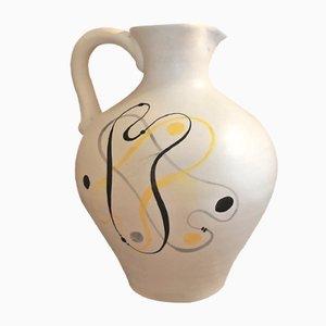 Brocca in ceramica di André Baud, anni '50