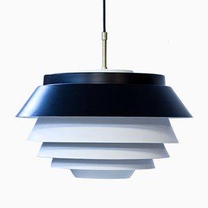 Lámpara colgante danesa de Nordisk Solar, años 60