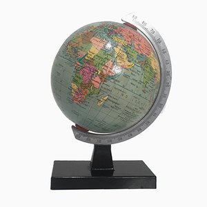 Small Vintage DDR Political Globe from Räth
